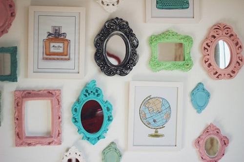 decoracao-quadros-quadrinhos-frames-molduras-parede