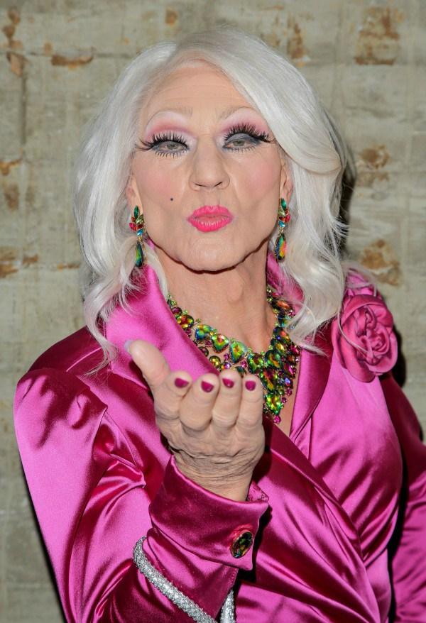 patrick stewart x men professor xaviar drag queen lgbt gay blunt talk 3