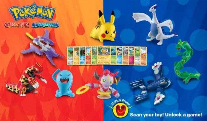 pokemon brinquedo toy mc lanche feliz