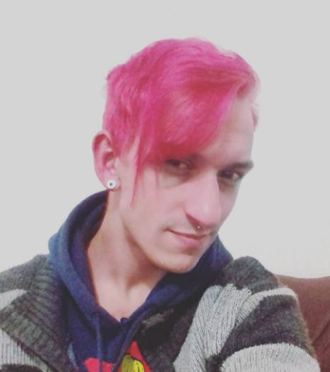 B.A. new me pink hair braian avilla quase hype blog hair color rosa cabelo cor vida amor