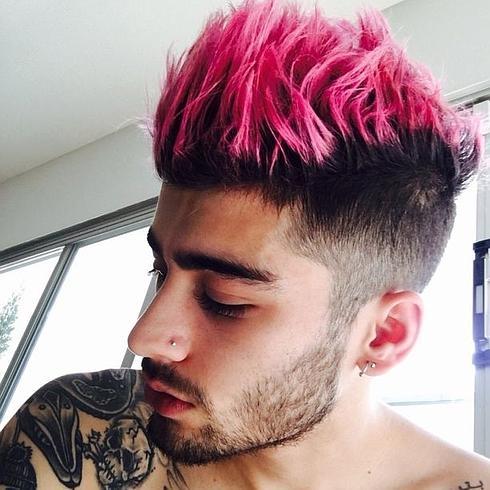 rosa cabelo homen pintar como pink hair color