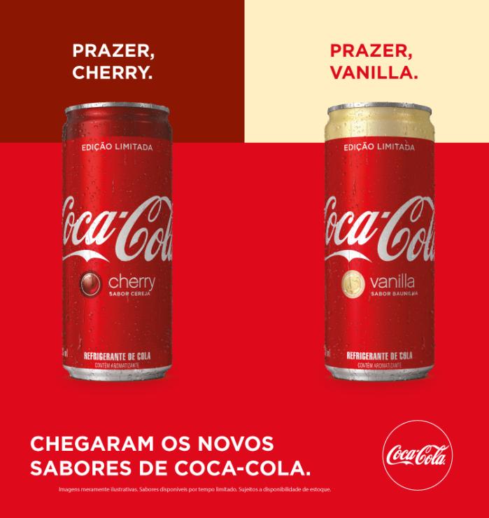 coke coca cola cereja e baunilha Cherry_Vanilla