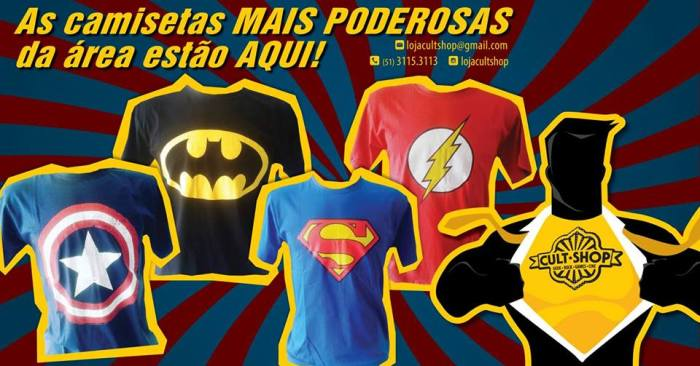 cult-shop-loja-geek-filmes-cinema-series-herois-hqs-roupa-moda-brinquedo-acessorios-cultura-pop-camiseta-superman-batman-flash-capitao-america